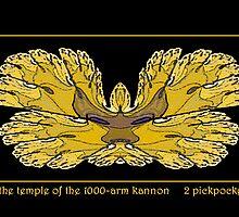 1000-Arm Kannon by billiedee