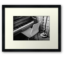 Let's Play a Song Framed Print