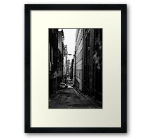 Down The Lanes 3 Framed Print
