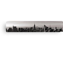 Panoramic view of New York Canvas Print