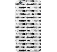 Black & White Hand Drawn Abstract Design iPhone Case/Skin