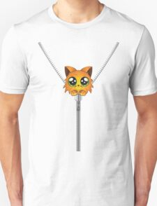 Red kitten unzipped Unisex T-Shirt