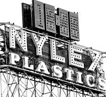 nylex neon sign by Neil Mouat