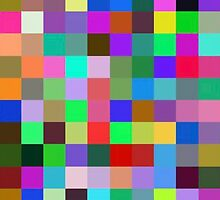Color Squares 10 by RubenW
