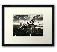 F-4 Phantom Fighter Jet Framed Print