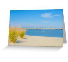 Stinky Beach - Ocean City, Maryland Greeting Card