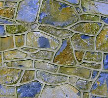 Stone Wall Detail by Honor Kyne