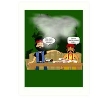 Cheech & Chong - How am I Driving? Art Print