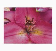 Pink Lily in the garden 2 Kids Tee