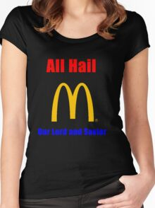 All Hail the big M Women's Fitted Scoop T-Shirt