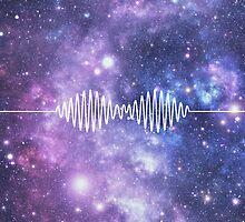 Arctic Monkeys space nebula by billhaverchuck