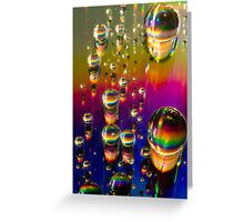 Surface Tension Greeting Card