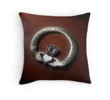 Claddagh Throw Pillow