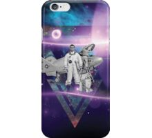 Surreal and Retro Mixed Media Collage iPhone Case/Skin