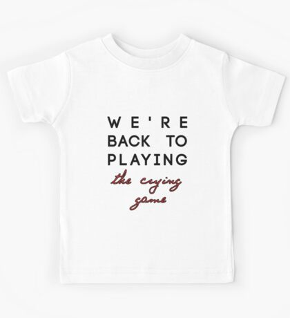 "Nicki Minaj The Pinkprint - ""The Crying Game"" Kids Tee"