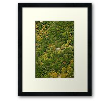 Lonely home Framed Print