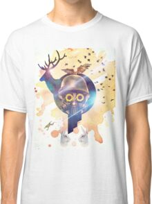 Funky Abstract Modern Digital Collage Classic T-Shirt