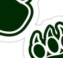 Bear Paws Sticker