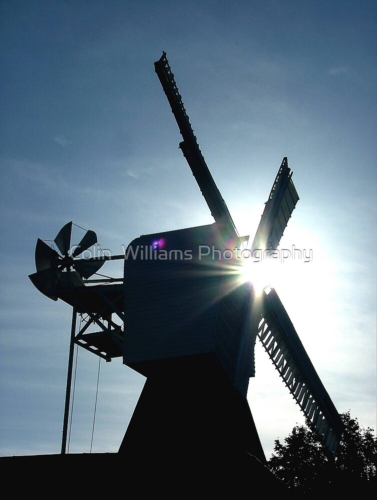 Windmills of Your Mind by Colin  Williams Photography