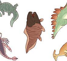 Prehistoric Cuties by seelpeel