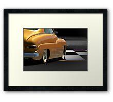 1950 Mercury Custom Sedan Framed Print
