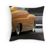 1950 Mercury Custom Sedan Throw Pillow