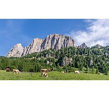 Dolomites, Italy Photographic Print