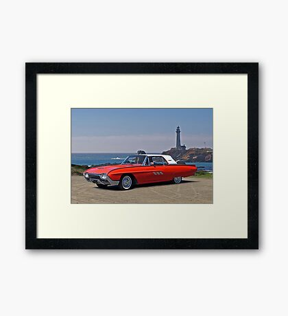1963 Ford Thunderbird Framed Print