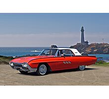 1963 Ford Thunderbird Photographic Print