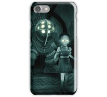 Bioshock - Greetings from Rapture without the words iPhone Case/Skin