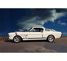 1966 Shelby Mustang G.T.350 Photographic Print