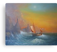 The Silmarillion Voyage Of Earendil Canvas Print