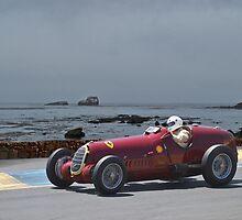 1935 Alpha Romeo 8C-35 Gran Prix Racer by DaveKoontz