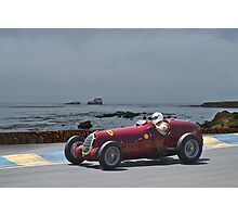 1935 Alpha Romeo 8C-35 Gran Prix Racer Photographic Print