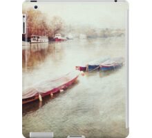 Tranquil Boats iPad Case/Skin