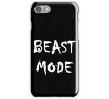BEAST MODE iPhone Case/Skin