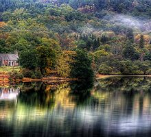 Loch Achray Church by Linda  Morrison