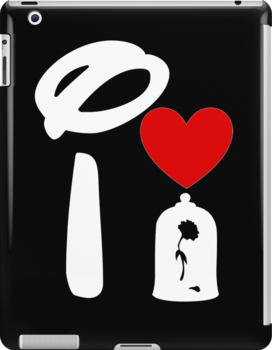 I Heart Beauty and The Beast (Inverted) by ShopGirl91706