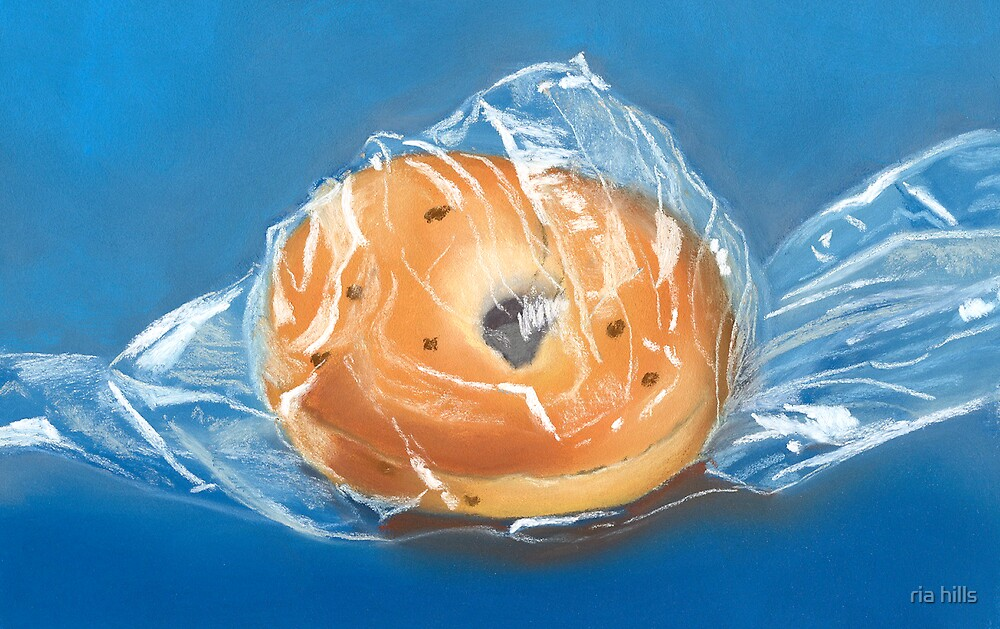 bagged bagel by ria hills