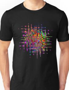 Abstract colorful tee Unisex T-Shirt