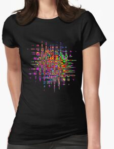 Abstract colorful tee Womens T-Shirt