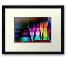 Wine Glasses-Available As Art Prints-Mugs,Cases,Duvets,T Shirts,Stickers,etc Framed Print