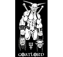 Goatlord Justice Photographic Print