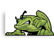 Bully Frog Canvas Print