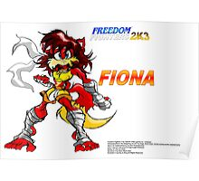 Freedom Fighters 2K3 Fiona Poster