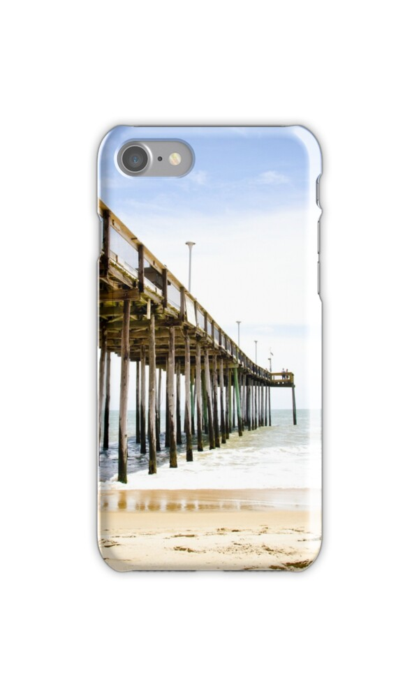 Fishing pier ocean city maryland iphone cases skins for Ocean city md fishing pier