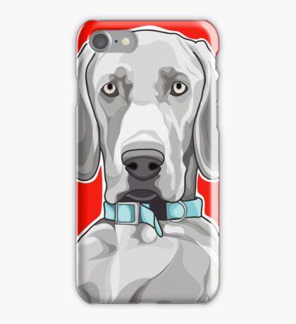 """WEIMARANER"" iPhone Case/Skin"