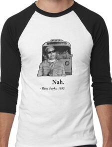 Rosa Parks Deal With It nah Men's Baseball ¾ T-Shirt