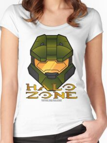 Halo Zone MC Logo Women's Fitted Scoop T-Shirt