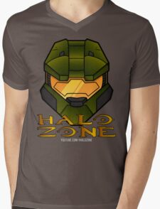 Halo Zone MC Logo Mens V-Neck T-Shirt